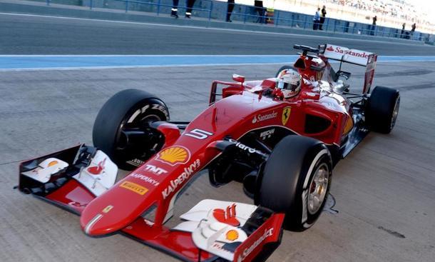 F1 2015 Ferrari Vettel Auto