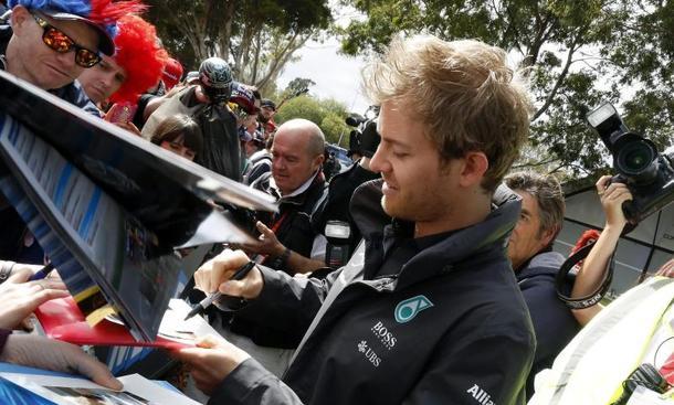 F1 2015 Nico Rosberg Mercedes