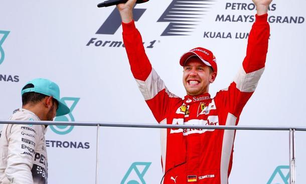 Sebastian Vettel Ferrari GP Malaysia F1 2015