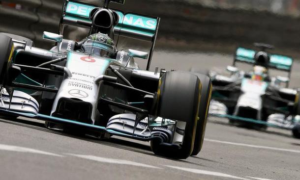 Hamilton und Rosberg