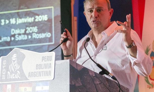 Renndirektor Etienne Lavigne
