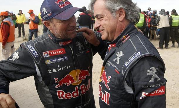 Altmeister Sainz muss bei Rallye Dakar aufgeben