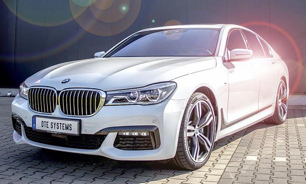 BMW 750d/M550d: Tuning von DTE Systems