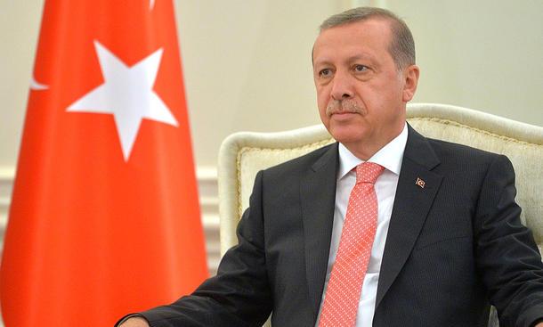 Türkischer Staatspräsident Recep Tayyip Erdogan