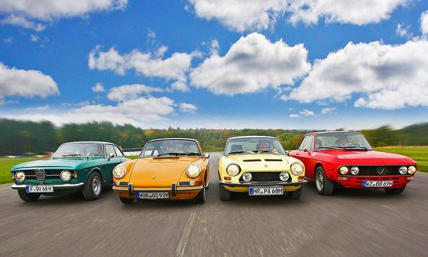 GT 1300 Junior/912/1200 S/Fulvia: Classic Cars