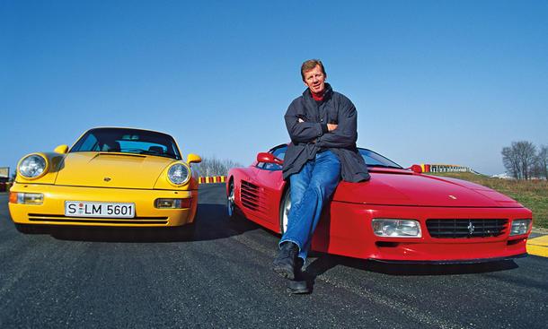 Porsche 911 Turbo/Ferrari 512 TR: Classic Cars