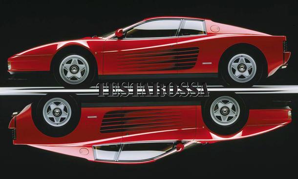 Ferrari verliert Makenname Testarossa