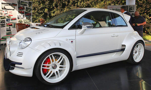 Fiat 500 Giannini 350 Gp Tuning Von Gram Torino Autozeitung De