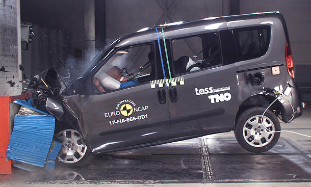 Fiat Doblò im Crashtest