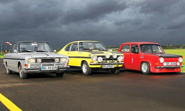 15 M RS/Kadett B/Simca Rallye: Classic Cars
