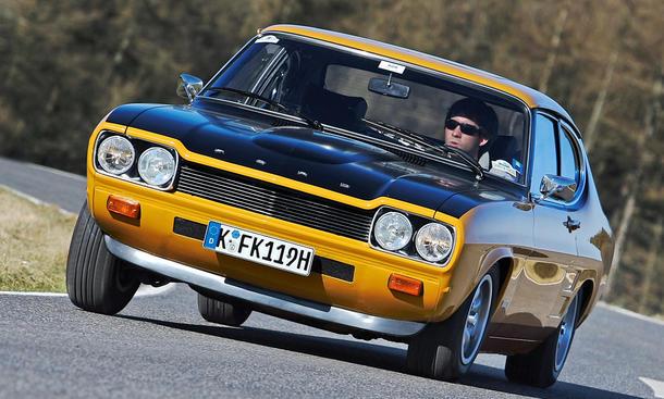 Ford Capri RS 2600: Classic Cars