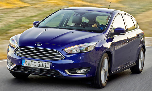 Ford Focus Facelift (2014)