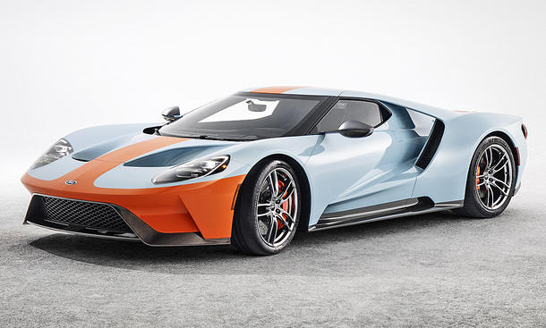 Ford GT Heritage Edition (2018)