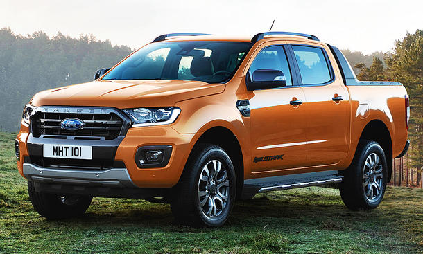Ford Ranger Facelift (2019)