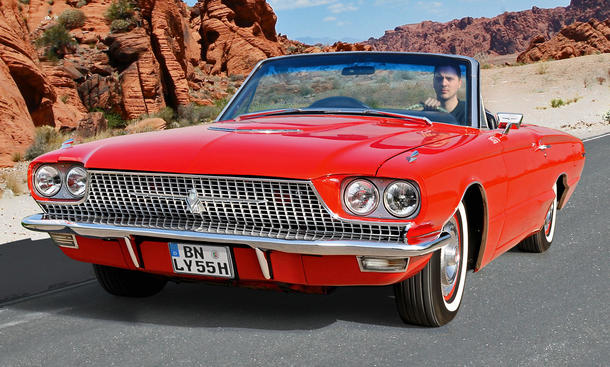 Ford Thunderbird Cabriolet: Classic Cars