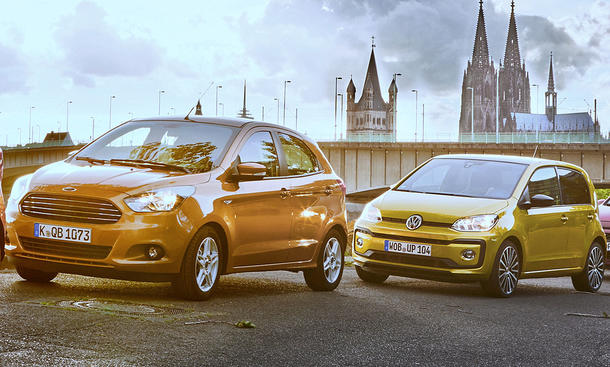 Ford Ka+/VW Up
