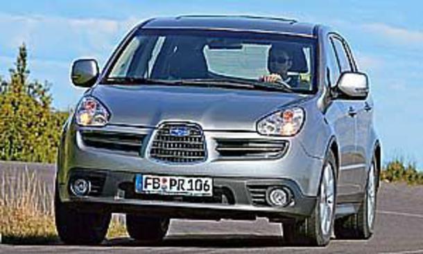 Subaru B9 Tribeca Autozeitung De