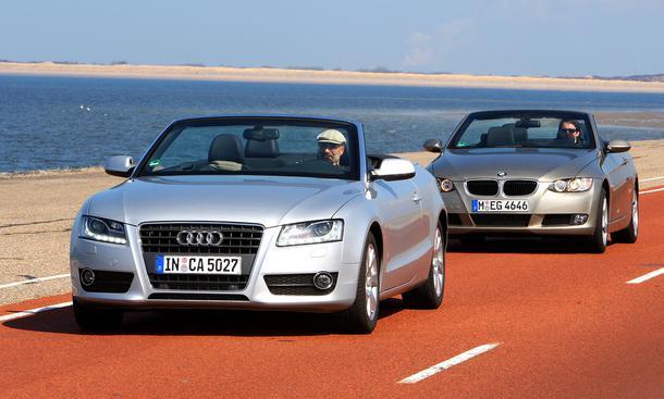 Vergleichstest: Audi A5 Cabrio - BMW 320d Cabrio