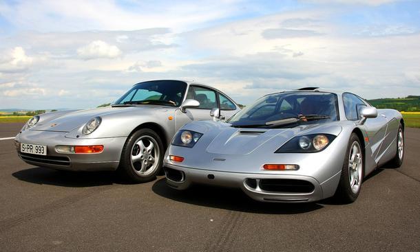 Jahrzehnt der Supersportwagen: McLaren F1 und Porsche 993