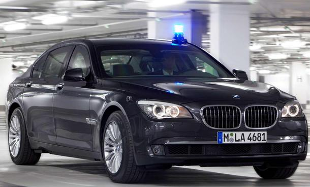 Der neue BMW 760Li High Security