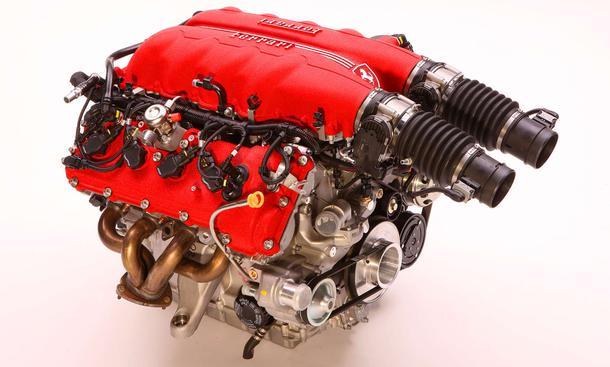 Der Motor im neuen Ferrari California