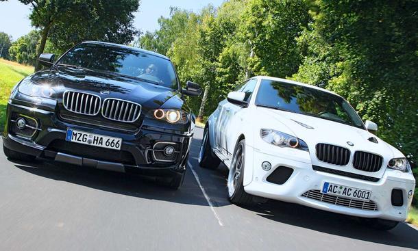 Tuning: AC Schnitzer und Hartge tunen den BMW X6 xDrive35d