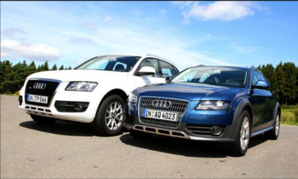 Mittelklasse-SUV: Audi A4 allroad gegen Audi Q5