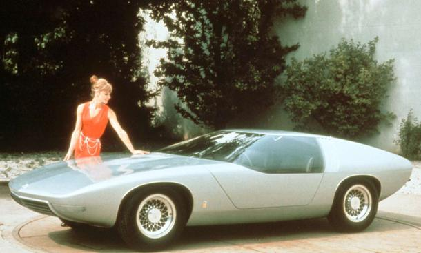 Opel CD: Studie von 1969