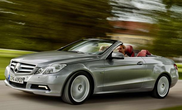 Neues Mitglied der E-Familie: das Mercedes E-Klasse Cabriolet 2010