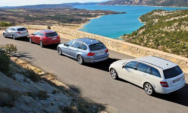 Diesel-Kombis: Opel Insignia Sports Tourer im Vergleichstest