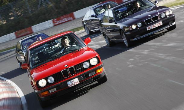 Faszination Auto: BMW M5 feiert 25-jähriges Dienstjubiläum
