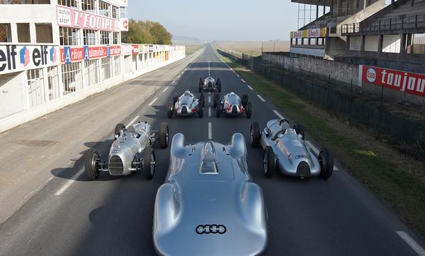 Audi-Jubiläum 2009: Auto Union-Silberpfeile