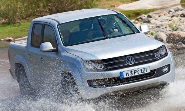 Neuer Pick-Up: VW Amarok – ab Mitte 2010 in Europa