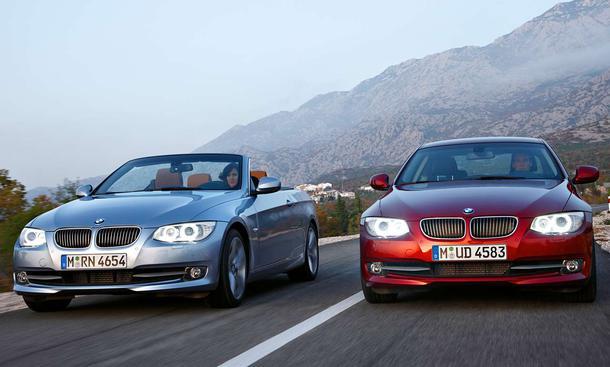 Neuheiten: BMW 3er Coupé und Cabrio mit Facelift