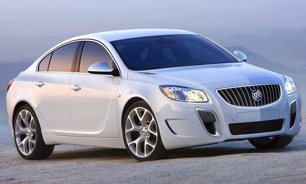 Premiere auf der Detroit Auto Show 2010: Buick Regal GS