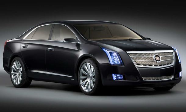 Cadillac XTS Platinum Concept auf der Detroit Autoshow 2010