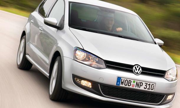 Top-Marken 2009: Kleinwagen wie der VW Polo waren besonders gefragt