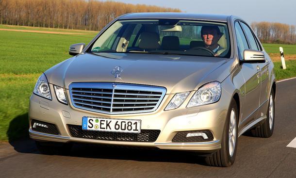 Alle Vergleichstest-Sieger 2009: Mercedes E 250 CDI