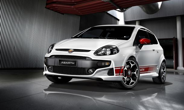 Fiat auf dem Autosalon Genf 2010: Abarth Punto Evo