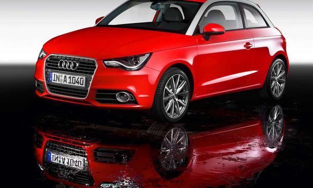 Premiere in auf dem Genfer Autosalon 2010: der neue Audi A1