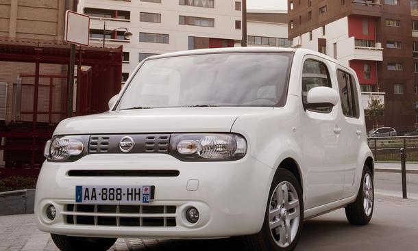 Design-Objekt: Der japanische Minivan Nissan Cube im ersten Fahrbericht