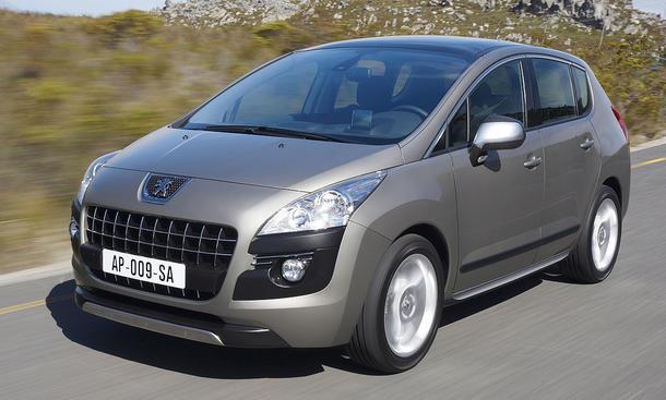 Im Test der AUTO ZEITUNG: der Crossover Peugeot 3008 155 THP
