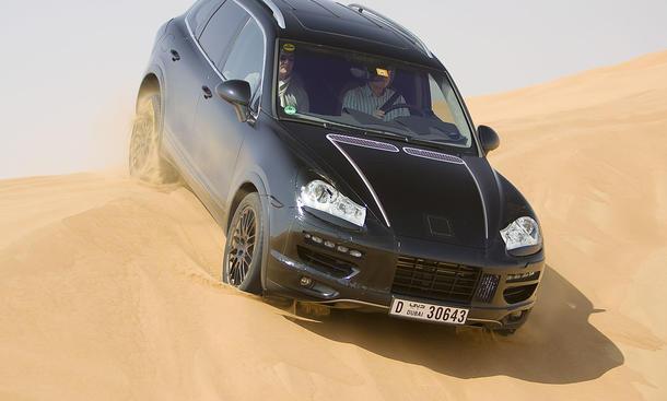 Fahrbericht: Neuer Porsche Cayenne Turbo – Letzte Tests in der arabischen Wüste