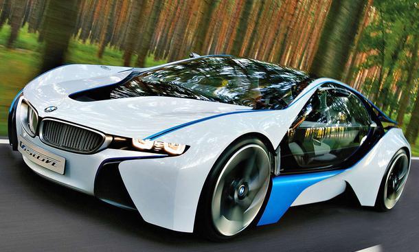 Der BMW Vision Efficient Dynamics ist eine von vielen spektakulären BMW-Studien