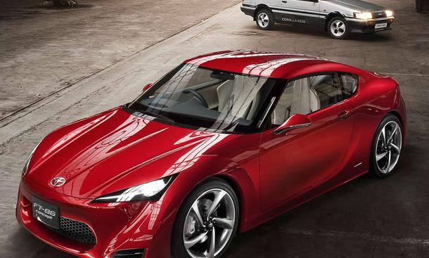 Anfang 2012 kommt das neue Toyota-Coupé, die Studie FT-86 gibt einen Ausblick darauf