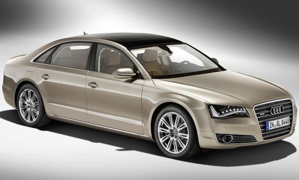 Mit Zwölfzylinder und 13 Zentimeter mehr Radstand: Audi A8 W12 L quattro