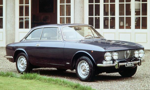 Alfa Romeo Historie: Alfa Giulia Coupé aus dem Jahr 1962