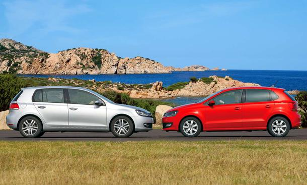 Vergleichstest: VW Golf 1.2 TSI BlueMotion Technolgy gegen VW Polo 1.2 TSI