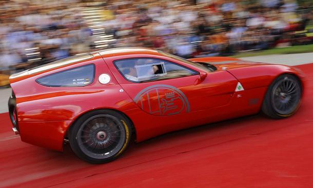 100 Jahre Alfa Romeo: Geburtstagsgeschenk ist der neue Zagato TZ3 Corsa