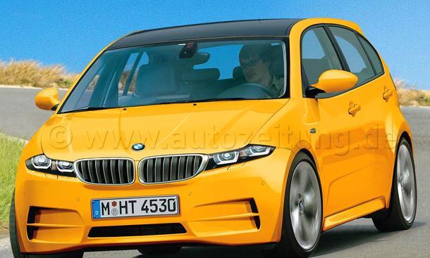 Der neue Kompakte von BMW kommt 2014 auch als Hochdach-Variante